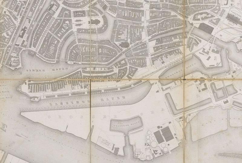 Amtlicher Stadtplan von 1868
